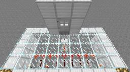 SIMPLE Redstone Combination Lock Minecraft