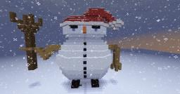 My Snowman Minecraft Map & Project