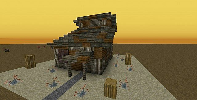Fallout shack minecraft project for How to build a small shack