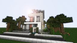 Modern Eco Home Minecraft Map & Project