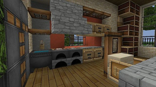 Modern Eco Home Minecraft Project