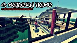 A MODERN HOME Minecraft Map & Project