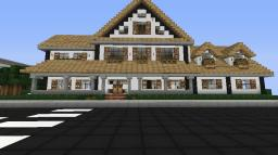 Modern mansion World schematic Minecraft Map & Project
