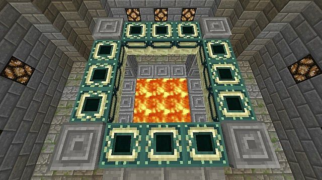 how to create end portal in minecraft