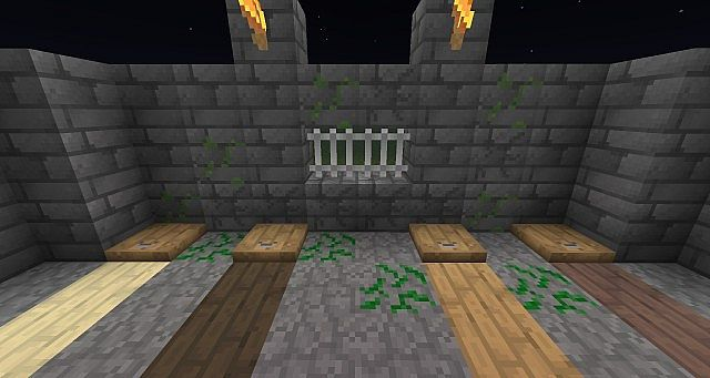 Showcasing some changes plus new trapdoors and iron bars!