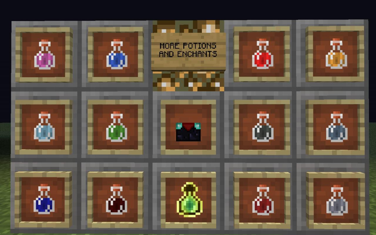 how to cancel potions is minecraft
