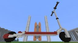3D Scooter - Pixel Art Minecraft Map & Project