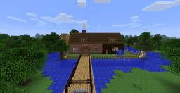 The home in the Lake! By Alessandrios! Minecraft Map & Project