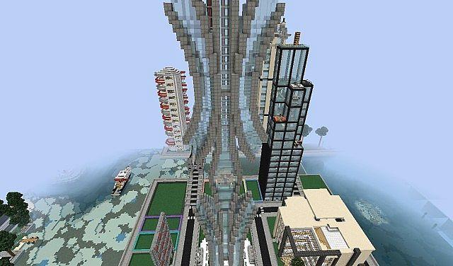 futuristic the aero building luxury skyscraper