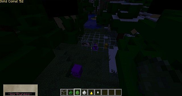 Some of the mobs  (sorry, the rest wouldn't cooperate XD)