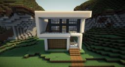 Simplicity - Modern House Minecraft Map & Project