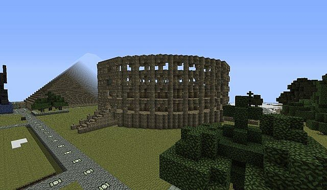 Small Colosseum Minecraft Project