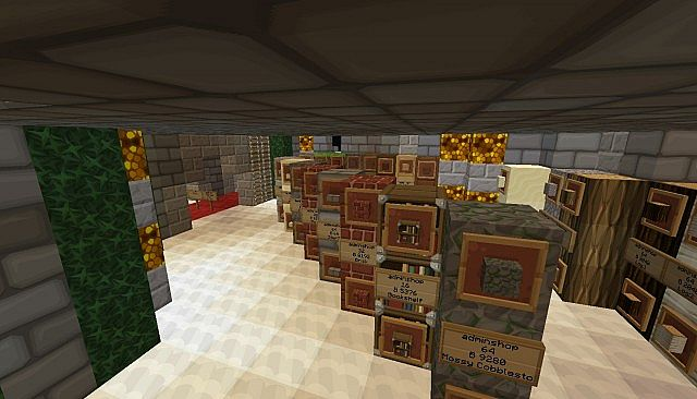Shops that include allmost every item in the game!
