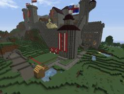 The Castle Minecraft Map & Project