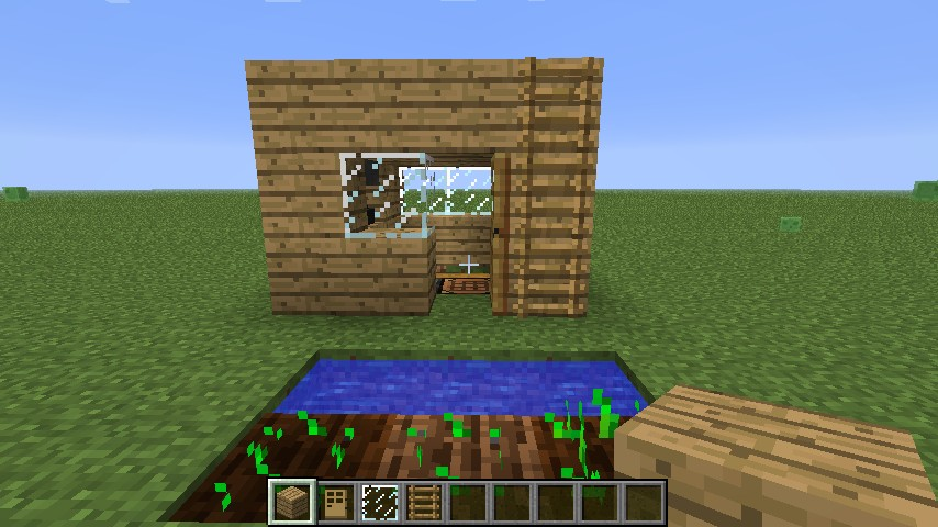 smallest house ever minecraft project