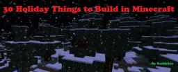 30 Things to Build in Minecraft Minecraft Blog Post