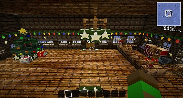the inside of the lodge - The Christmas Lodge