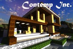 Modern House [Contemp Inc.] Minecraft Map & Project