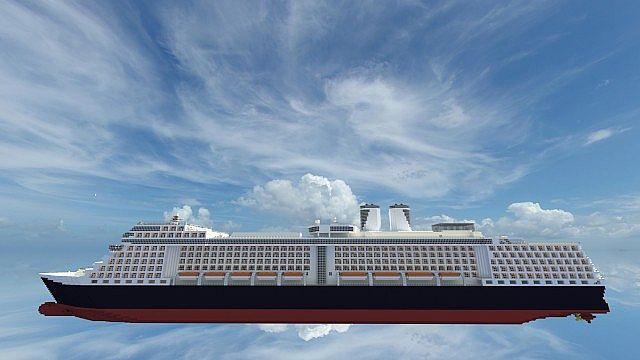 MV Eurodam Scale Real Life Cruise Ship Minecraft Project - Eurodam cruise ship