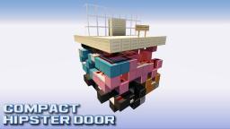 Ultra Compact Hipster Door [8x11x8] Minecraft