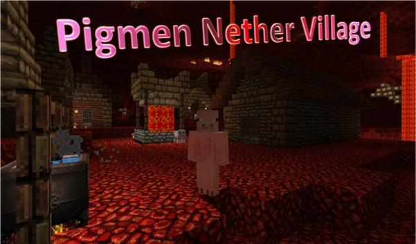 My Mineidea - The Amazing Pigmen Nether Village Minecraft Blog