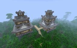 Japanese World Minecraft Map & Project