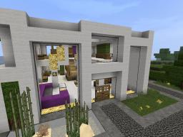 Modern Beach House by PandyRaze Minecraft Map & Project