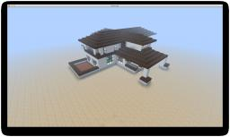 Willits House by F. L. Wright Minecraft Map & Project