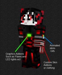 [MineIdea] Custom Clothing ^-^ Minecraft