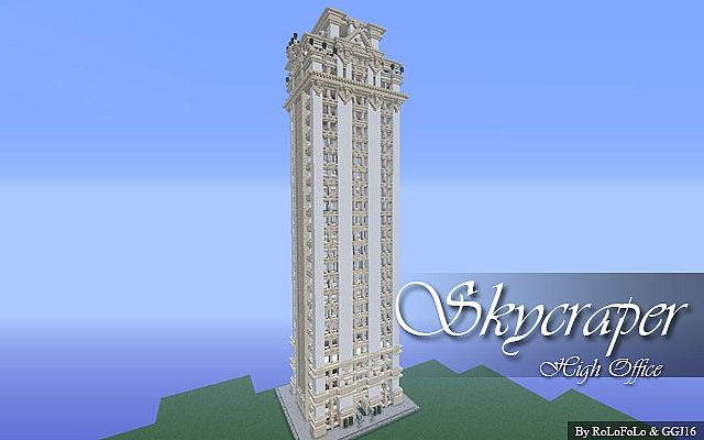 High Skyscraper Office Building Edited By Ggj16 Minecraft