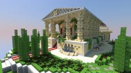 Roman Spleef Arena   Gardens Minecraft