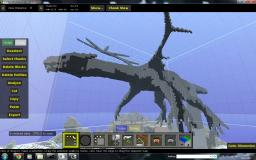Dragon in Flight Minecraft Map & Project