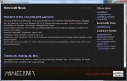 [Contest Blog] Minecraft Launcher Update [Added] Minecraft Blog