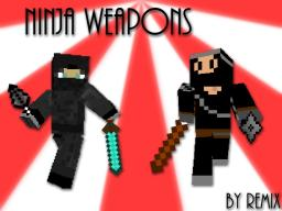 [S1.6] Ninja Weapons! [THROWABLE KUNAI] Minecraft Mod