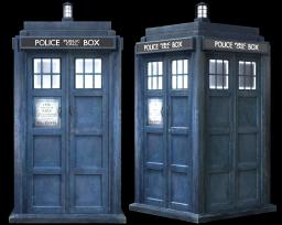 Doctor Who (TARDIS) Minecraft Map & Project