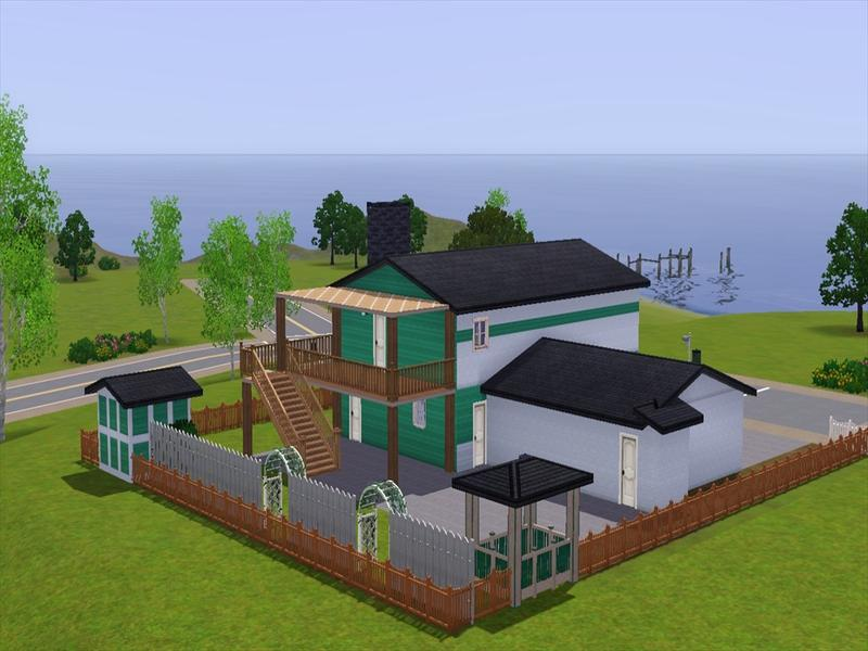 nuketown green house minecraft project