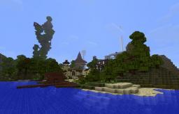 Exotic Fantasy Village Minecraft Map & Project
