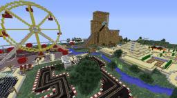 Themepark Minecraft Map & Project