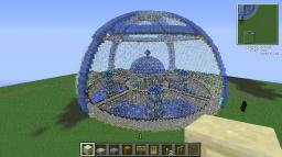 water Dome castle Minecraft Map & Project