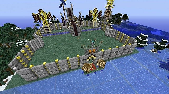 The new spawn under construction!