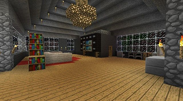 Simple 1 Story House Minecraft Map