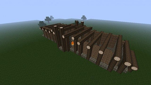Hunters Longhouse Minecraft Project