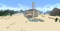 Modern House - Gee's Villa Minecraft Map & Project
