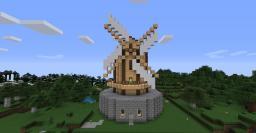 Dutch Windmill Minecraft Map & Project