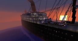 2.5:1 Titanic - Full Interior - Best Titanic There Is Minecraft Map & Project