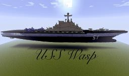 USS Wasp Minecraft Map & Project