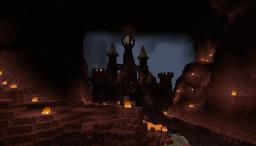 Evil Castle-made in the normal world-100% survival Minecraft Project