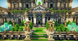 Moralian Palace [Now with a dragon :3] Minecraft Map & Project