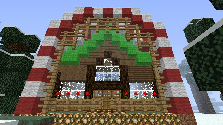 Minecraft Christmas Houses.A Perfect Christmas House By Blade Hound07 Minecraft Project