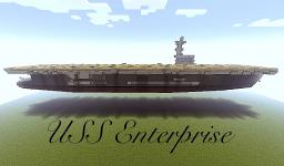 USS Enterprise Minecraft Map & Project